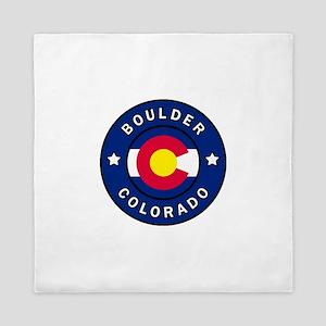 Boulder Colorado Queen Duvet