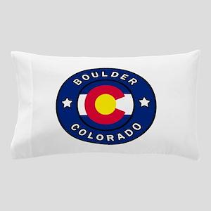 Boulder Colorado Pillow Case