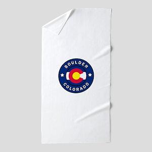 Boulder Colorado Beach Towel