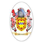 Stewart Sticker (Oval)