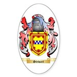 Stewart Sticker (Oval 10 pk)