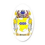 Stewart (Ireland) Oval Car Magnet