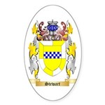 Stewart (Ireland) Sticker (Oval 50 pk)