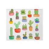 Cactus Fleece Blankets