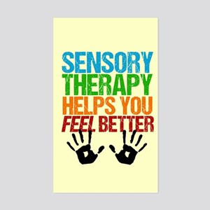 Sensory Therapy OT Sticker (Rectangle)