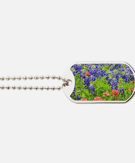 Unique Wildflowers Dog Tags