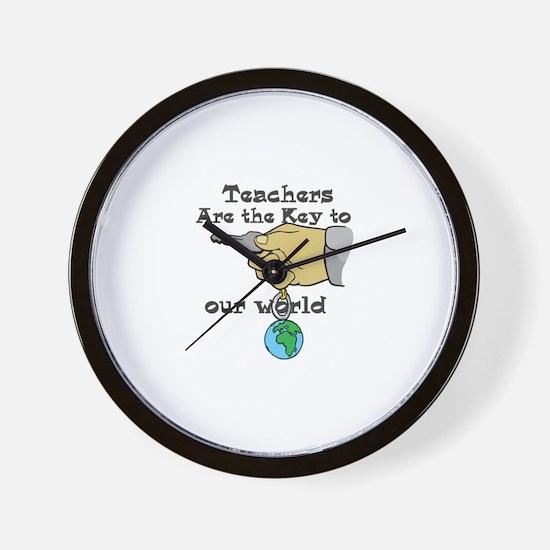 Teacher Appretiation Wall Clock