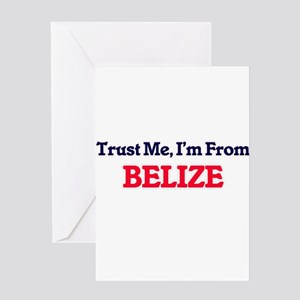 Trust Me, I'm from Benin Greeting Cards
