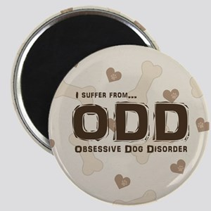 Obsessive Dog Disorder Magnets