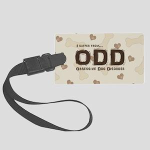 Obsessive Dog Disorder Luggage Tag