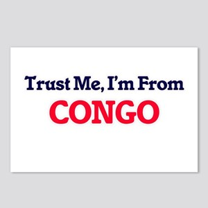 Trust Me, I'm from Congo Postcards (Package of 8)