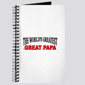 """""""The World's Greatest Great Papa"""" Journal"""