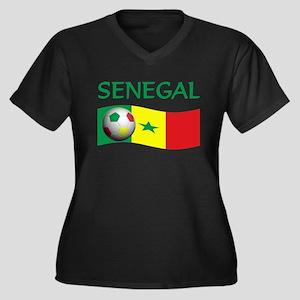 team SENEGAL world cup Women's Plus Size V-Neck Da