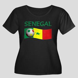 team SENEGAL world cup Women's Plus Size Scoop Nec