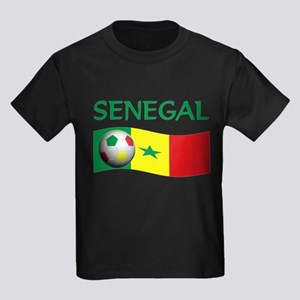 team SENEGAL world cup Kids Dark T-Shirt