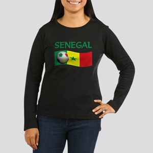 team SENEGAL world cup Women's Long Sleeve Dark T-