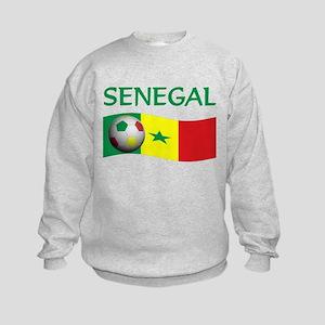 team SENEGAL world cup Kids Sweatshirt