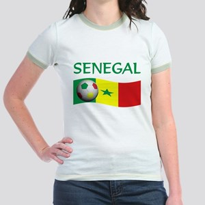 team SENEGAL world cup Jr. Ringer T-Shirt