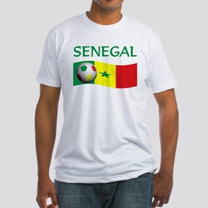 team SENEGAL world cup Fitted T-Shirt