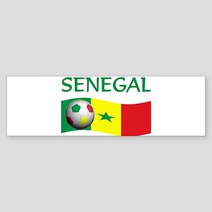 team SENEGAL world cup Bumper Sticker