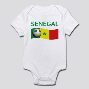 team SENEGAL world cup Infant Bodysuit