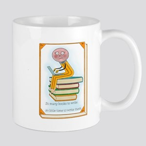 So Many Books to Write Mugs