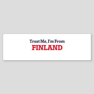 Trust Me, I'm from Florida Bumper Sticker