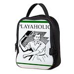 sports and gaming joke Neoprene Lunch Bag