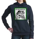 sports and gaming joke Women's Hooded Sweatshirt