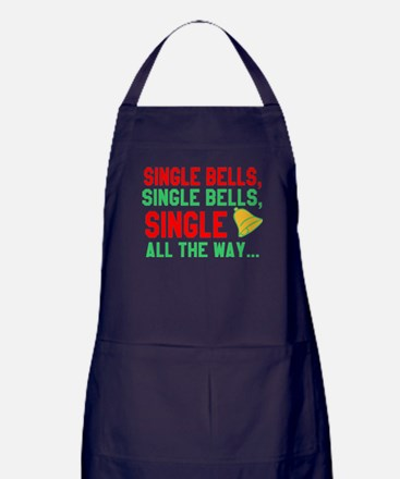 Single Bells Single Bell Single All W Apron (dark)