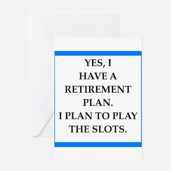 slots Greeting Cards