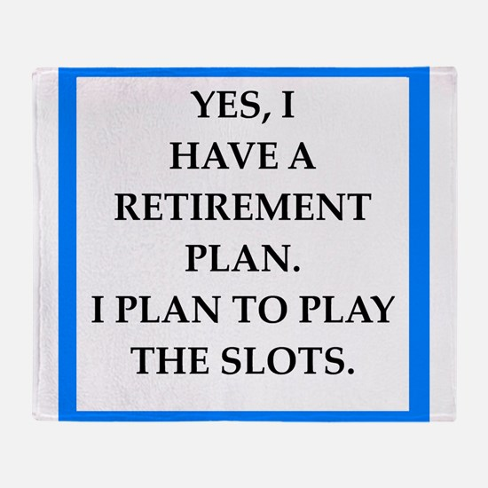 slots Throw Blanket