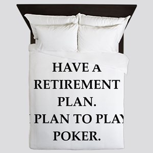 poker Queen Duvet