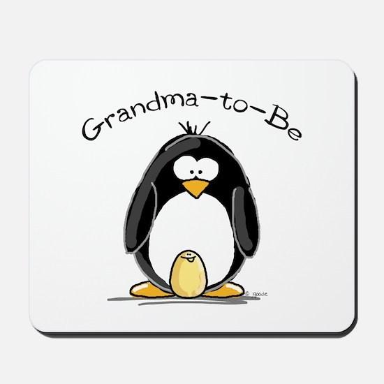 Grandma to Be Penguin Mousepad