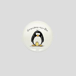 Grandma to Be Penguin Mini Button
