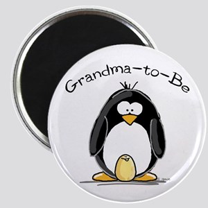Grandma to Be Penguin Magnet