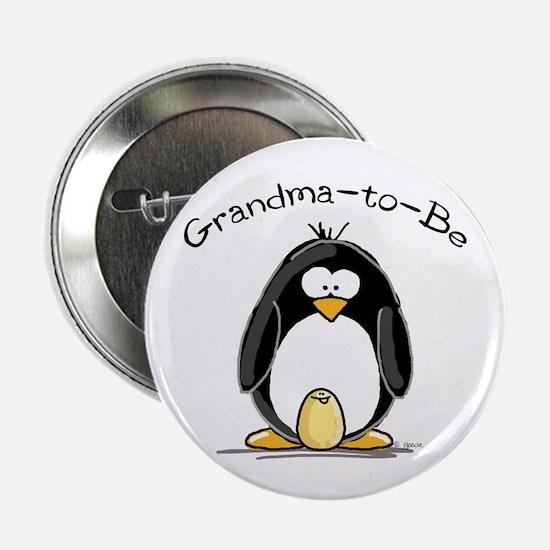 "Grandma to Be Penguin 2.25"" Button"