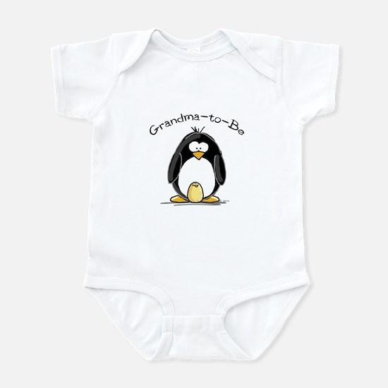 Grandma to Be Penguin Infant Bodysuit
