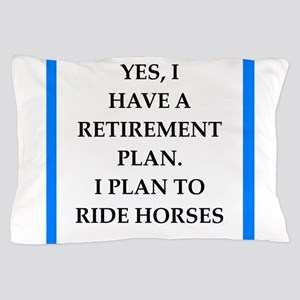 equestrian Pillow Case