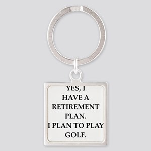golfer Keychains