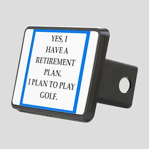 golfer Hitch Cover