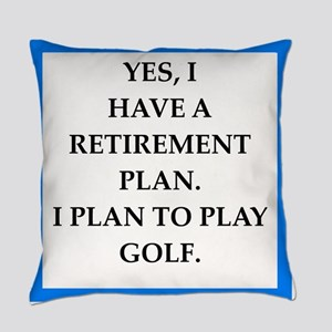 golfer Everyday Pillow