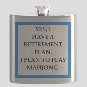 mahjong Flask