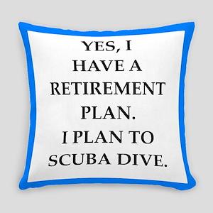 scuba diving Everyday Pillow
