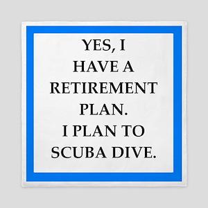 scuba diving Queen Duvet