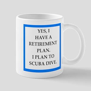 scuba diving Mugs