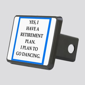 retirement joke on gifts and t-shirts. Hitch Cover