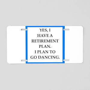 retirement joke on gifts and t-shirts. Aluminum Li