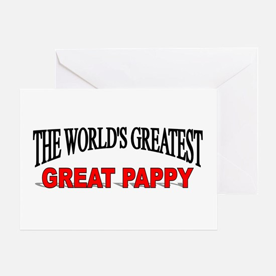 """""""The World's Greatest Great Pappy"""" Greeting Card"""