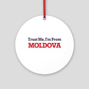 Trust Me, I'm from Monaco Round Ornament